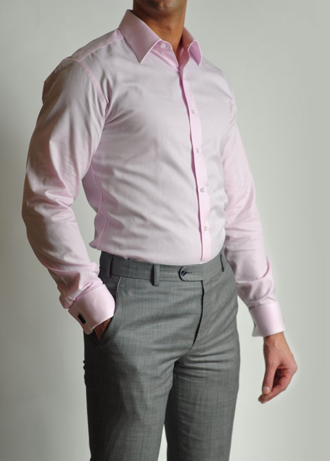 Mens Dress Shirts Pink