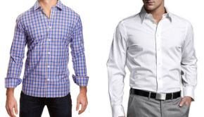"""Browsing the """"Dress Shirts"""" Category"""