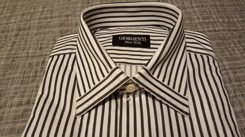 Giorgenti new york should you use starch on your dress for Custom dress shirts nyc