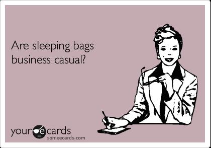casual-dress-sleeping-bags
