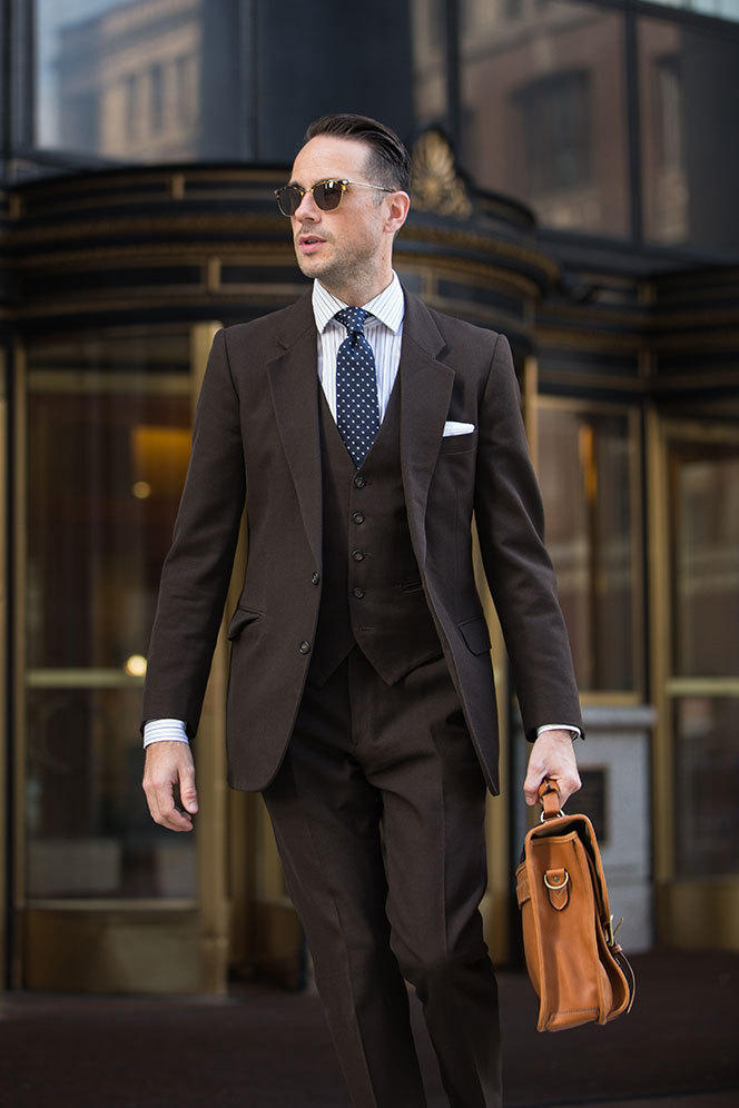 mens-brown-suits-3-piece-with-blue-tie-and-briefcase