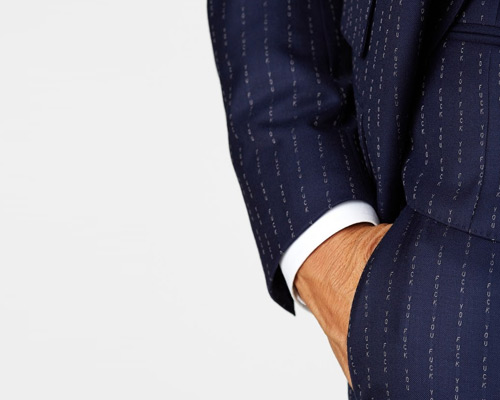 Pin-Stripe suits