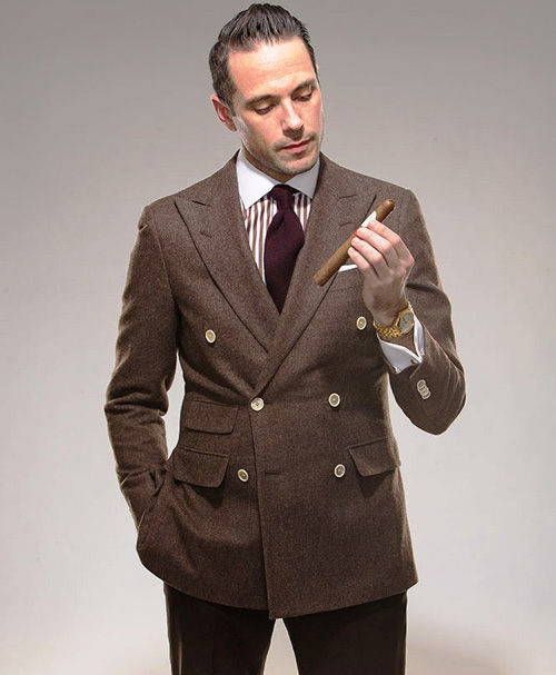 GIORGENTI's Favorite Brown Suits!