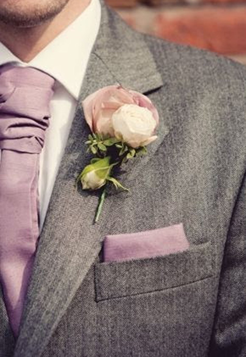 Gray Suits And Tux's for Grooms